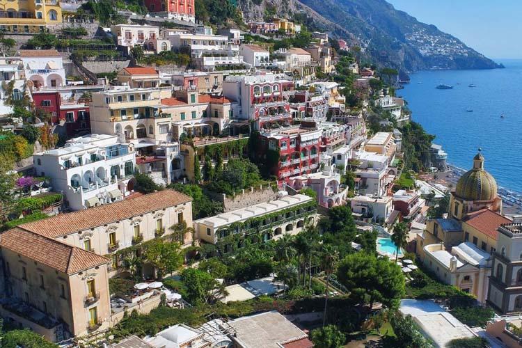 General View - Hotel Palazzo Murat - Amalfiküste
