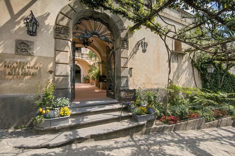 Entrance - Hotel Palazzo Murat - Amalfiküste