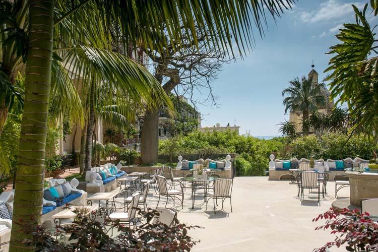 Terrace - Hotel Palazzo Murat - Amalfiküste