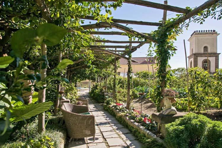 Garden - Hotel Palazzo Murat - Amalfiküste