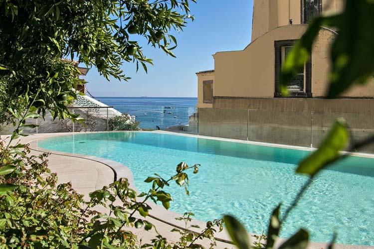 Pool - Hotel Palazzo Murat - Amalfiküste