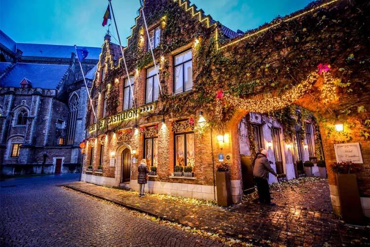General View - Hotel de Castillion - Bruges