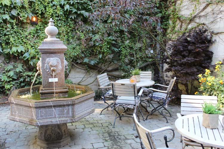 Courtyard - Hotel de Castillion - Bruges