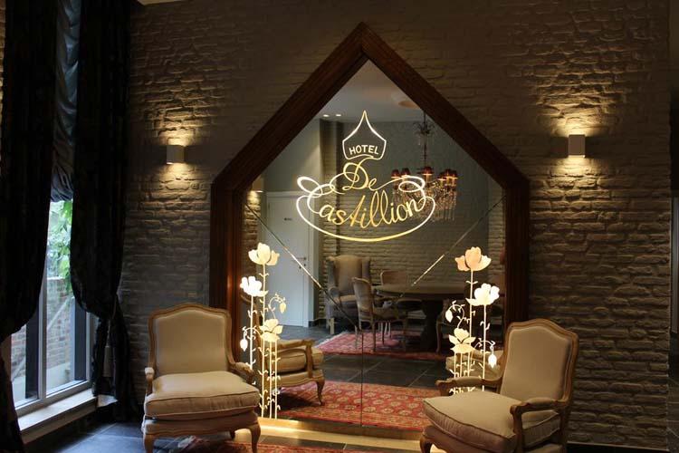 Detail - Hotel de Castillion - Bruges