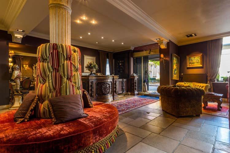 Lobby - Hotel Die Swaene - Brujas