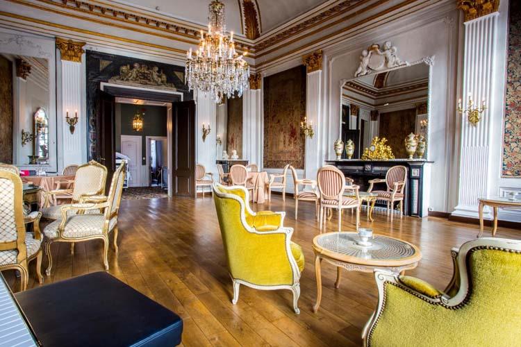 Living Room - Hotel Die Swaene - Brujas