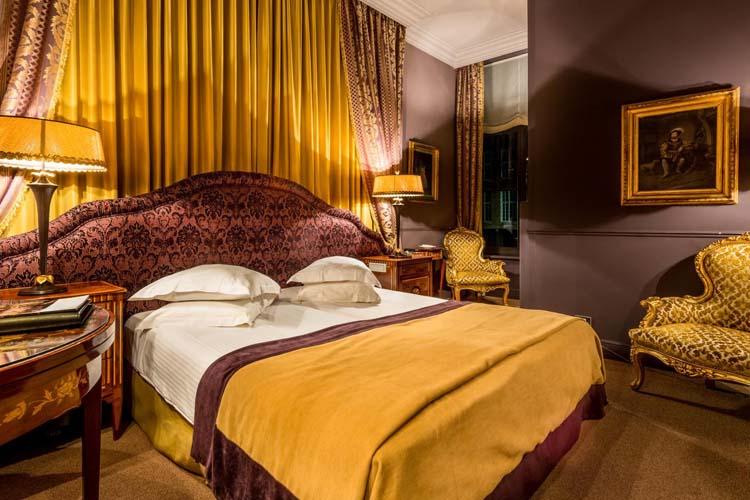 Pergola Deluxe Room - Hotel Die Swaene - Brujas