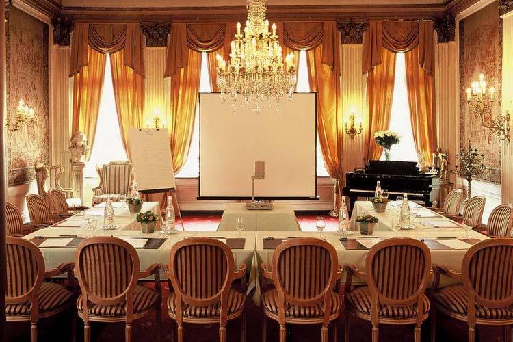 Meeting Room - Hotel Die Swaene - Brujas