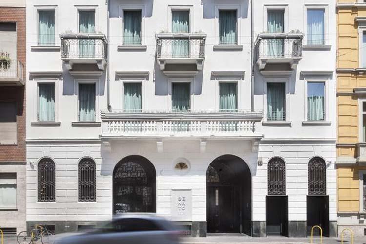 Facade - Senato Hotel Milano - Milano