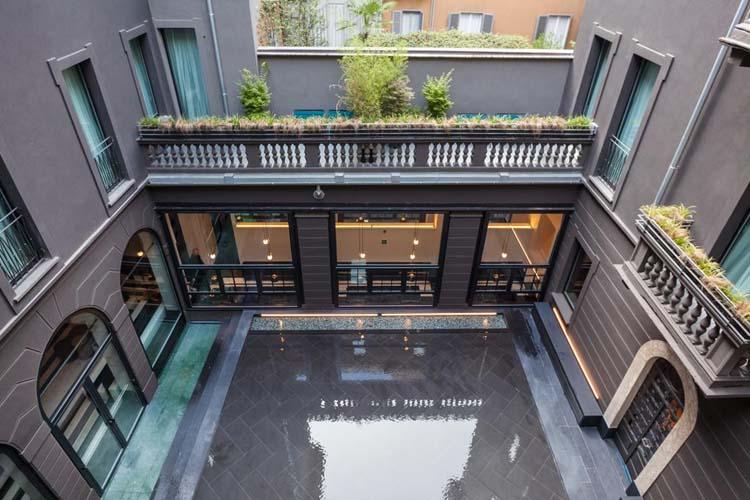 Courtyard - Senato Hotel Milano - Milano