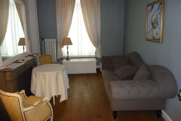 Living Room - Guest House Mirabel - Bruges