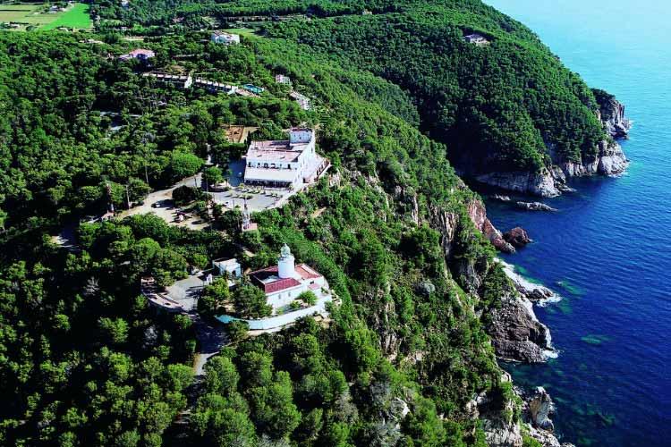 Aerial View - Hotel El Far - Costa Brava