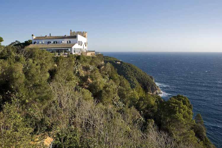 The Building - Hotel El Far - Costa Brava