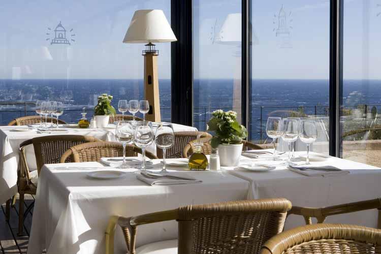 Restaurant - Hotel El Far - Costa Brava