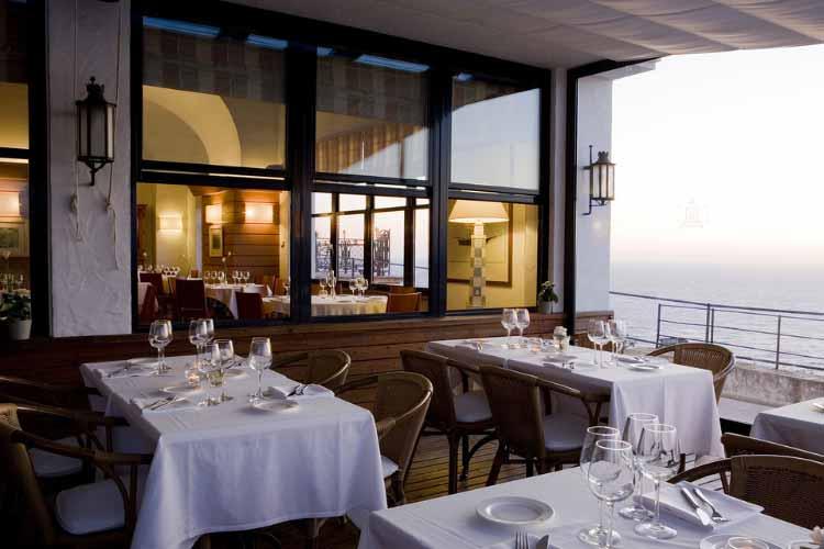 Outdoor Restaurant - Hotel El Far - Costa Brava