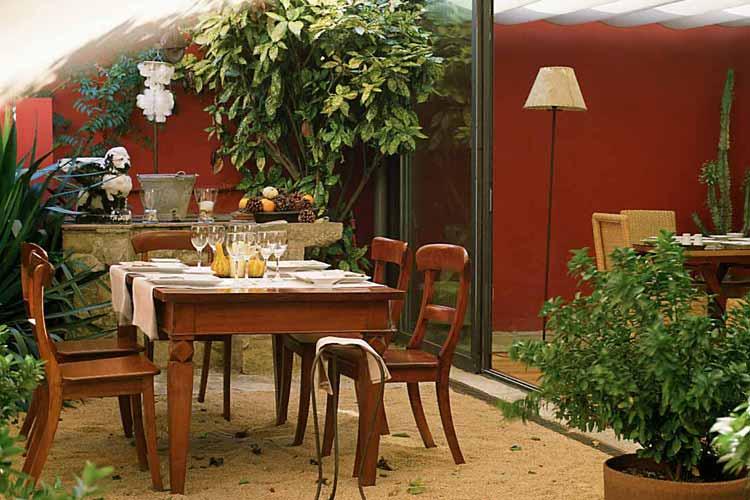 Restaurant Terrace - Aiguaclara Hotel Begur - Costa Brava