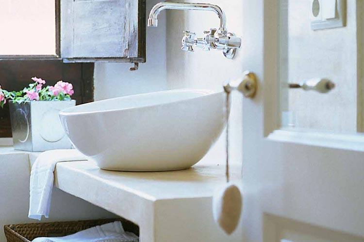 Sa Lucarna Bathroom - Aiguaclara Hotel Begur - Costa Brava