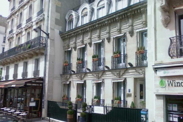 Facade - Hotel de La Tour Maubourg - Paris
