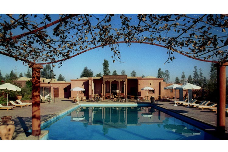 Swiming Pool - Hotel Al Moudira - Luxor