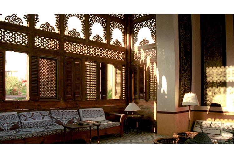 Lobby - Hotel Al Moudira - Luxor
