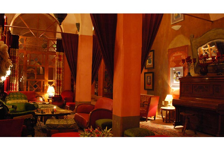 The Eastern Bar - Hotel Al Moudira - Luxor