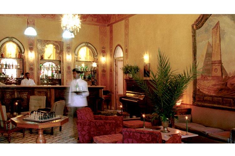 The Colonial Bar - Hotel Al Moudira - Luxor