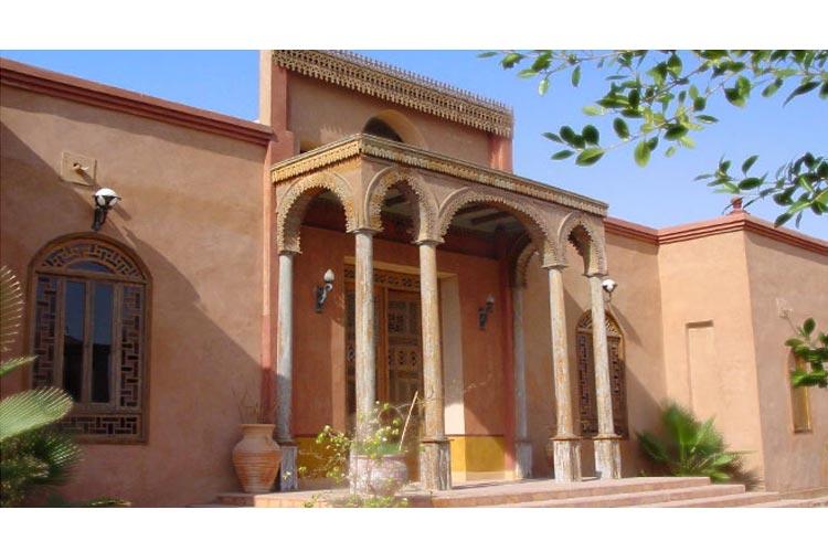 Main Entrance - Hotel Al Moudira - Luxor