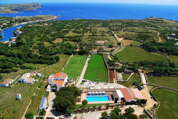Aerial View - Sant Joan de Binissaida - Es Castell
