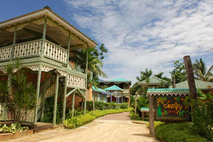 Country country beach cottages a boutique hotel in negril for Small country hotels