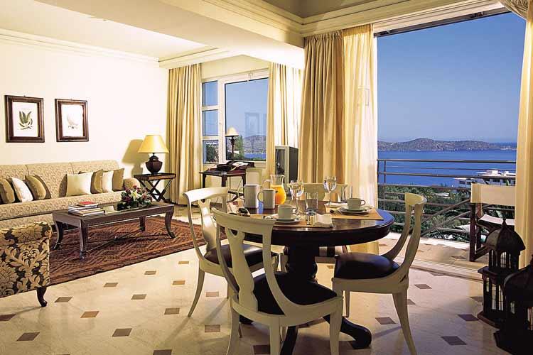 Luxury Family Suite. Lounge - Elounda Gulf Villas & Suites - Elounda