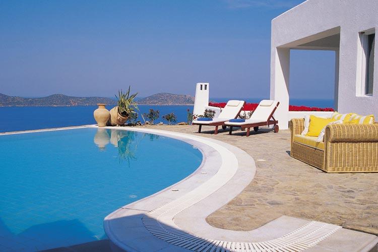 Elounda-Egean Villas. Pool - Elounda Gulf Villas & Suites - Elounda
