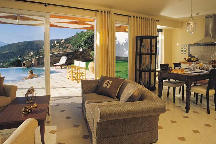 Elounda-Egean Villas. Lounge - Elounda Gulf Villas & Suites - Elounda
