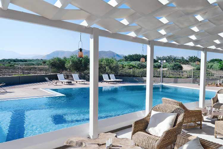 Main Pool Area - Paradise Island Villas - Hersonissos