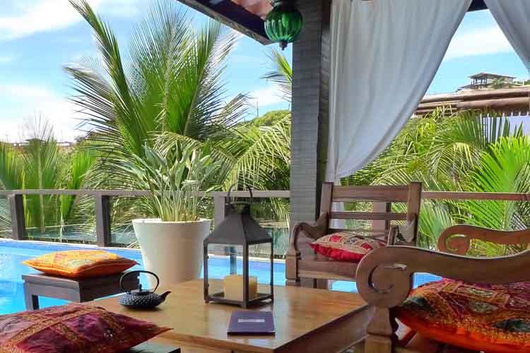 Terrace - La Pedrera Small Hotel & Spa - Armação dos Búzios