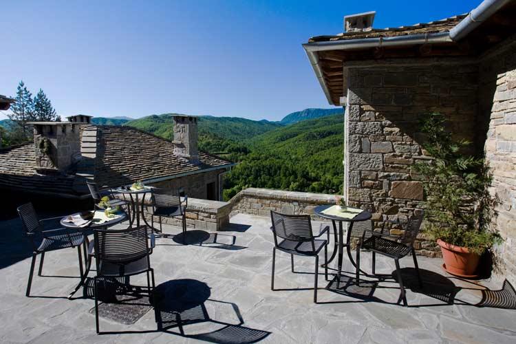 Terrace - Kipi Suites - Zagori