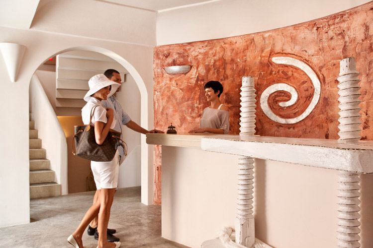 Reception - Andronis Luxury Suites - Oia