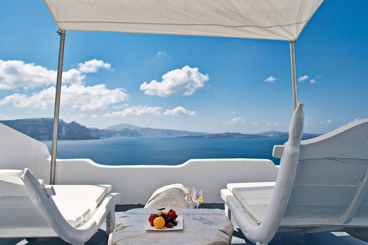 Terrace - Andronis Luxury Suites - Oia