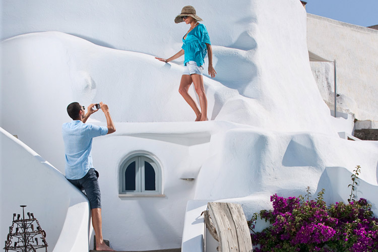Exterior View - Andronis Luxury Suites - Oia