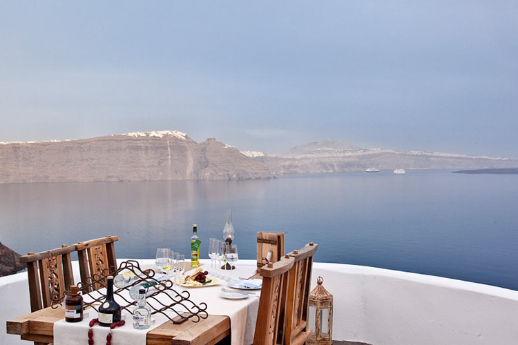 Restaurant - Andronis Luxury Suites - Oia