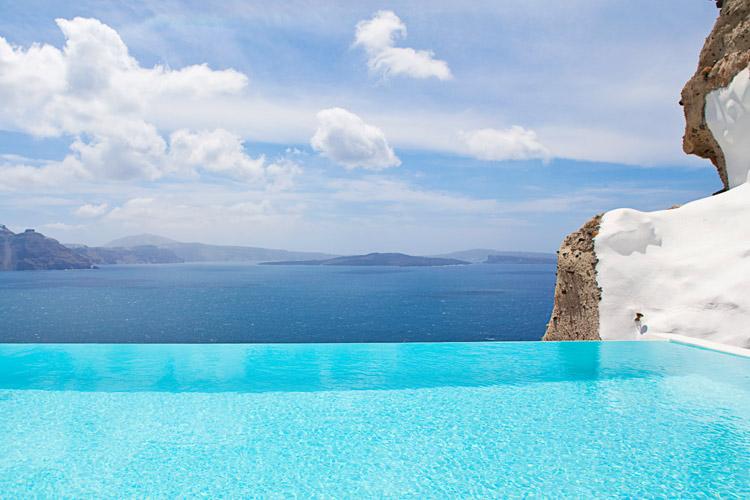 Pool - Andronis Luxury Suites - Oia