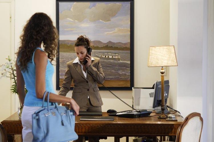 Reception - Aegean Suites Hotel - Skiathos