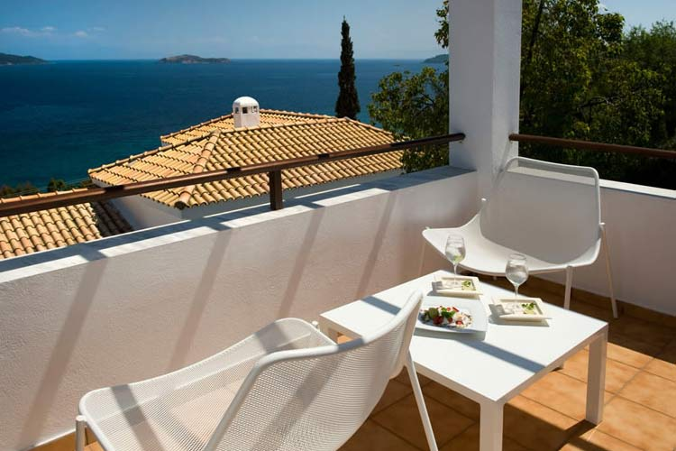 Deluxe Suite Terrace - Aegean Suites Hotel - Skiathos