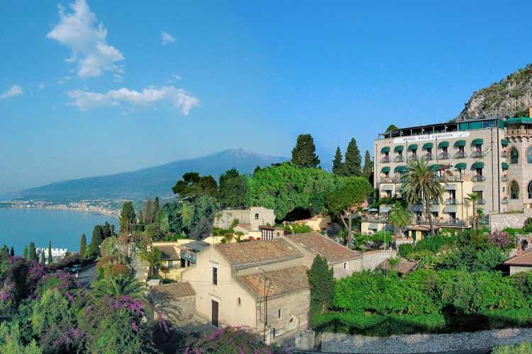 Hotel villa carlotta a boutique hotel in taormina for Great small hotel