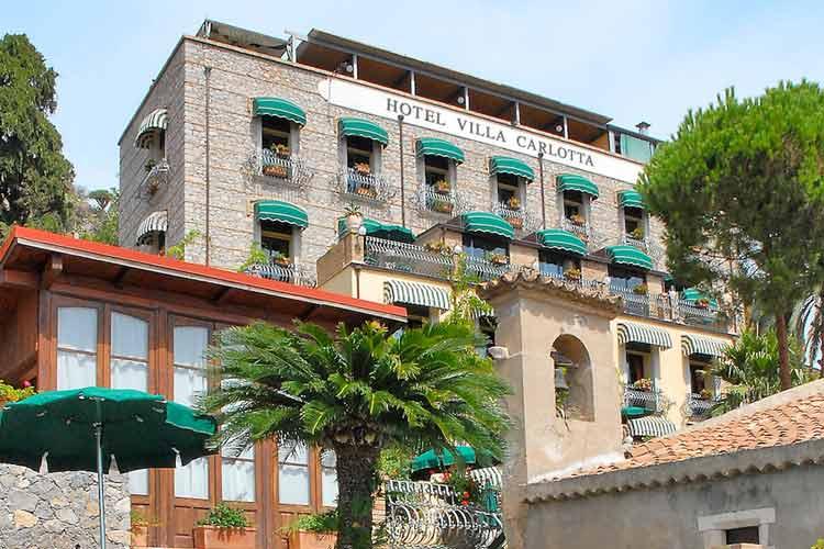 Hotel villa carlotta a boutique hotel in taormina for Hotel villa taormina