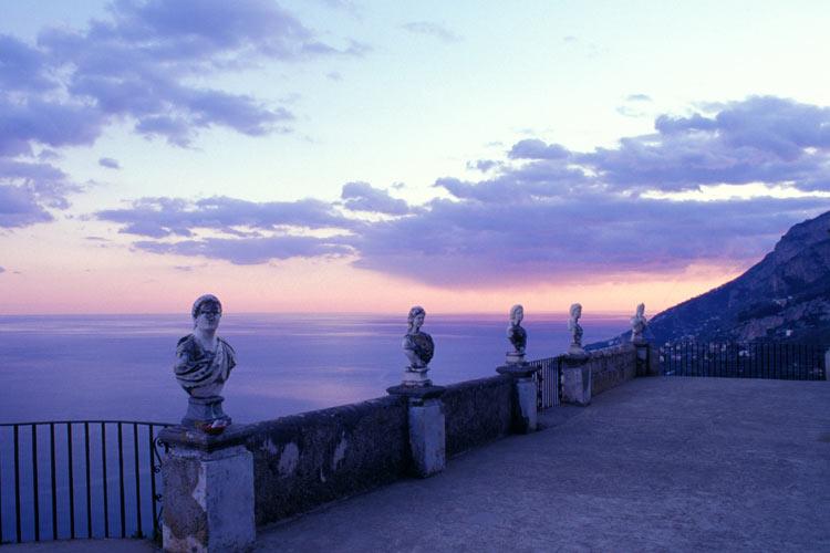 Belvedere - Villa Cimbrone - Costa Amalfitana