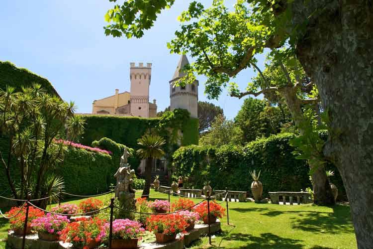Garden - Villa Cimbrone - Costa Amalfitana