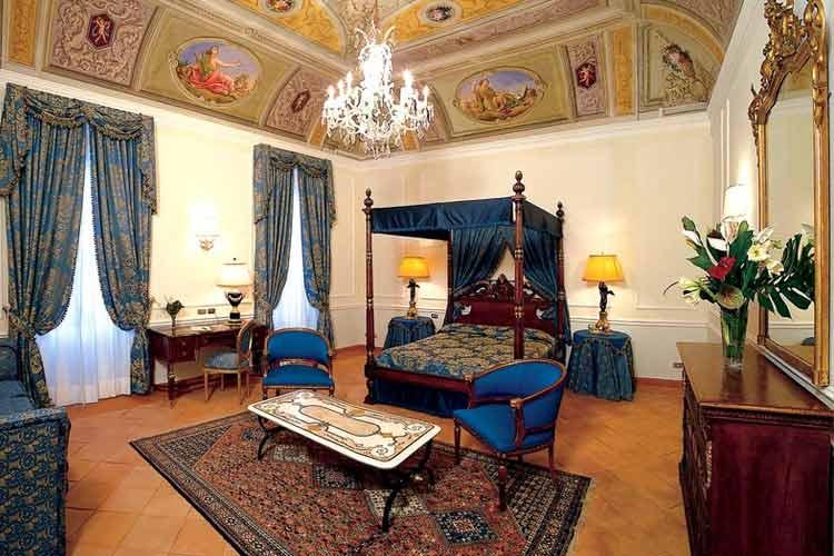 Hotel Albergo Del Senato A Boutique Hotel In Rome