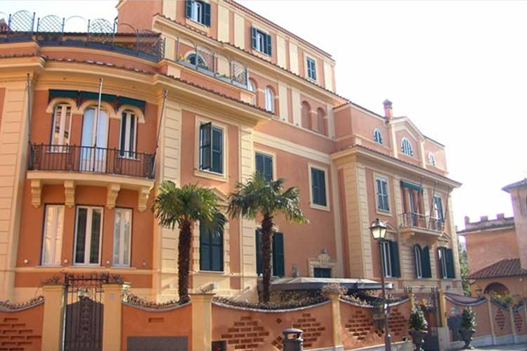 Hotel san anselmo a boutique hotel in rome for Great small hotels