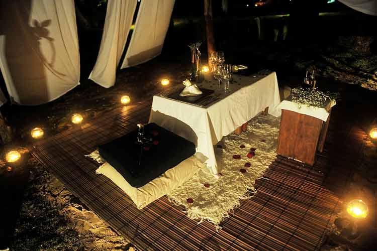 Romantic Dining - Hotel Vila Dos Orixas - Morro de Sao Paulo