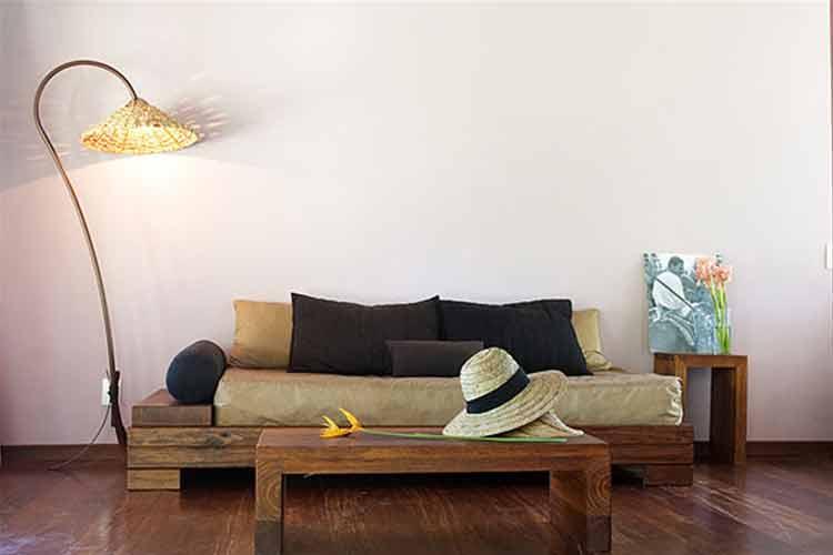 Bungalow Couch - Hotel Vila Dos Orixas - Morro de Sao Paulo